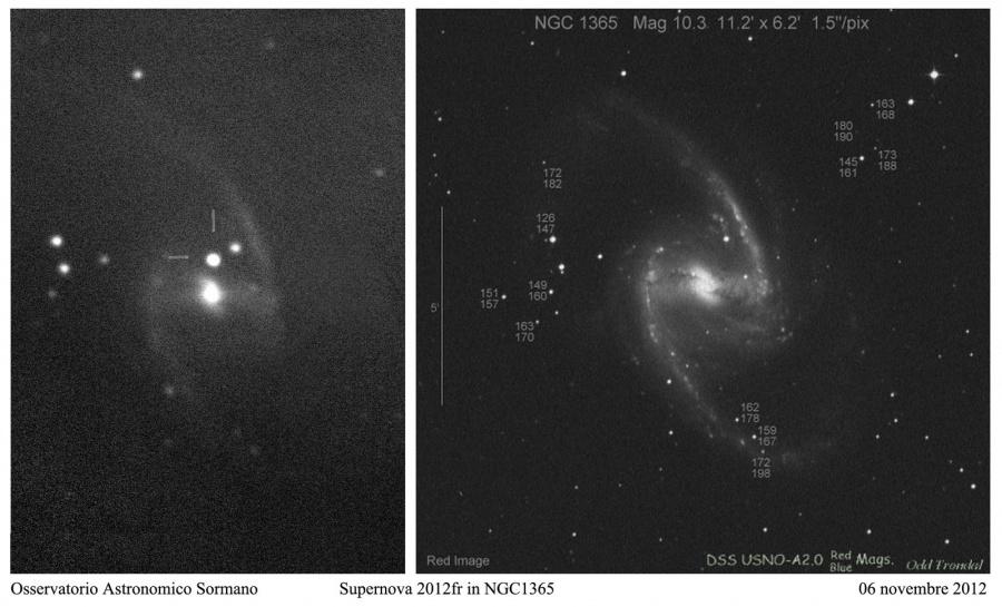 Immagine 1 - Supernova 2012fr