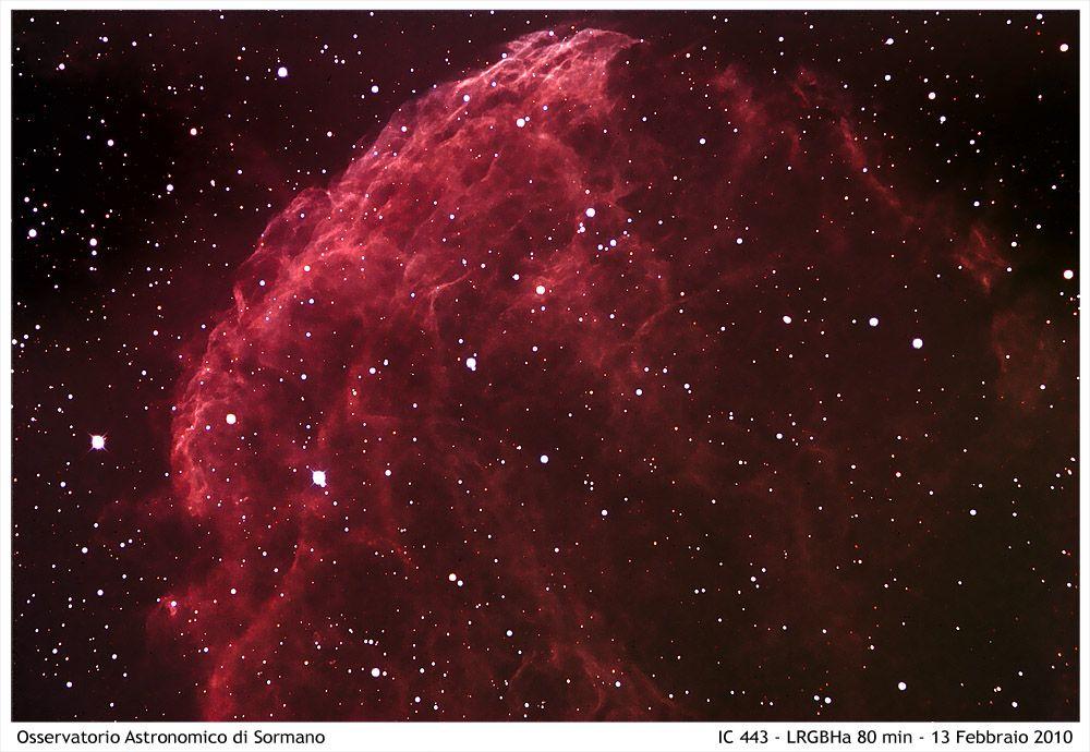 Foto Osservatorio  - Una medusa nel cielo