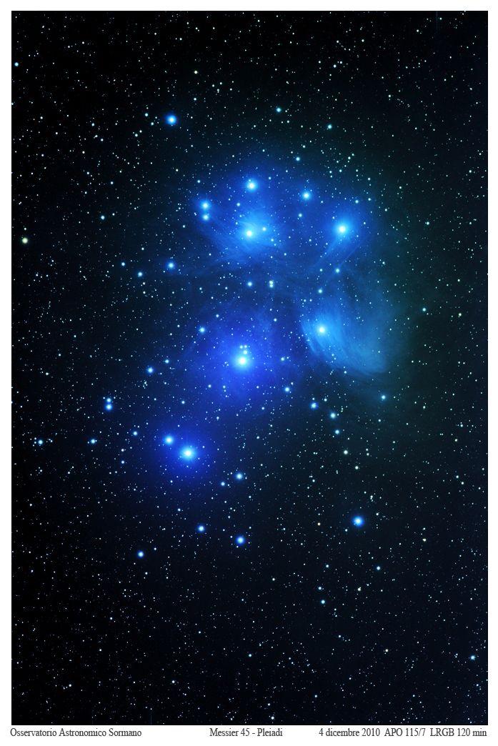 Foto Osservatorio  - Pleiadi, un buon test per la vista