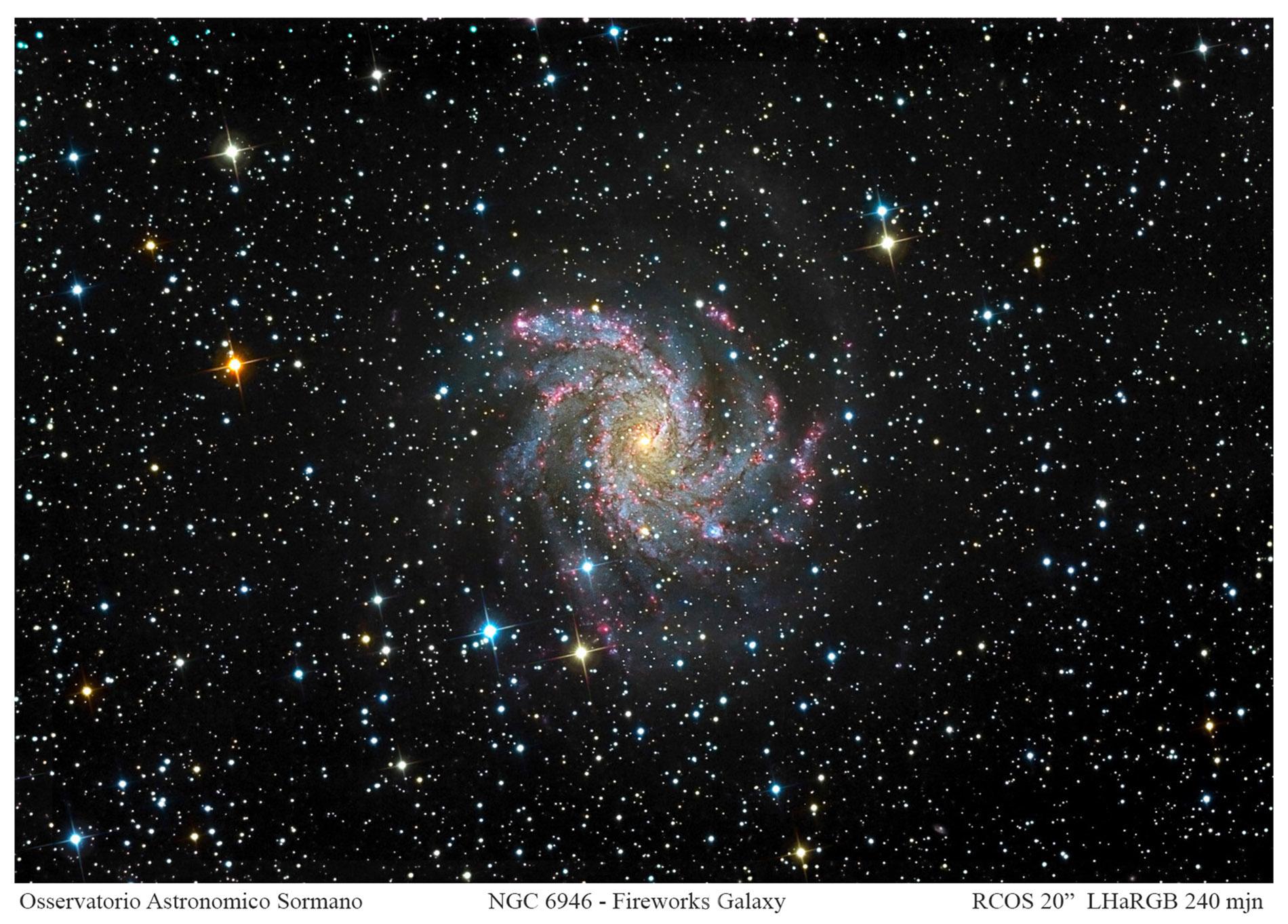 Foto Osservatorio  - Fuochi d'artificio stellari