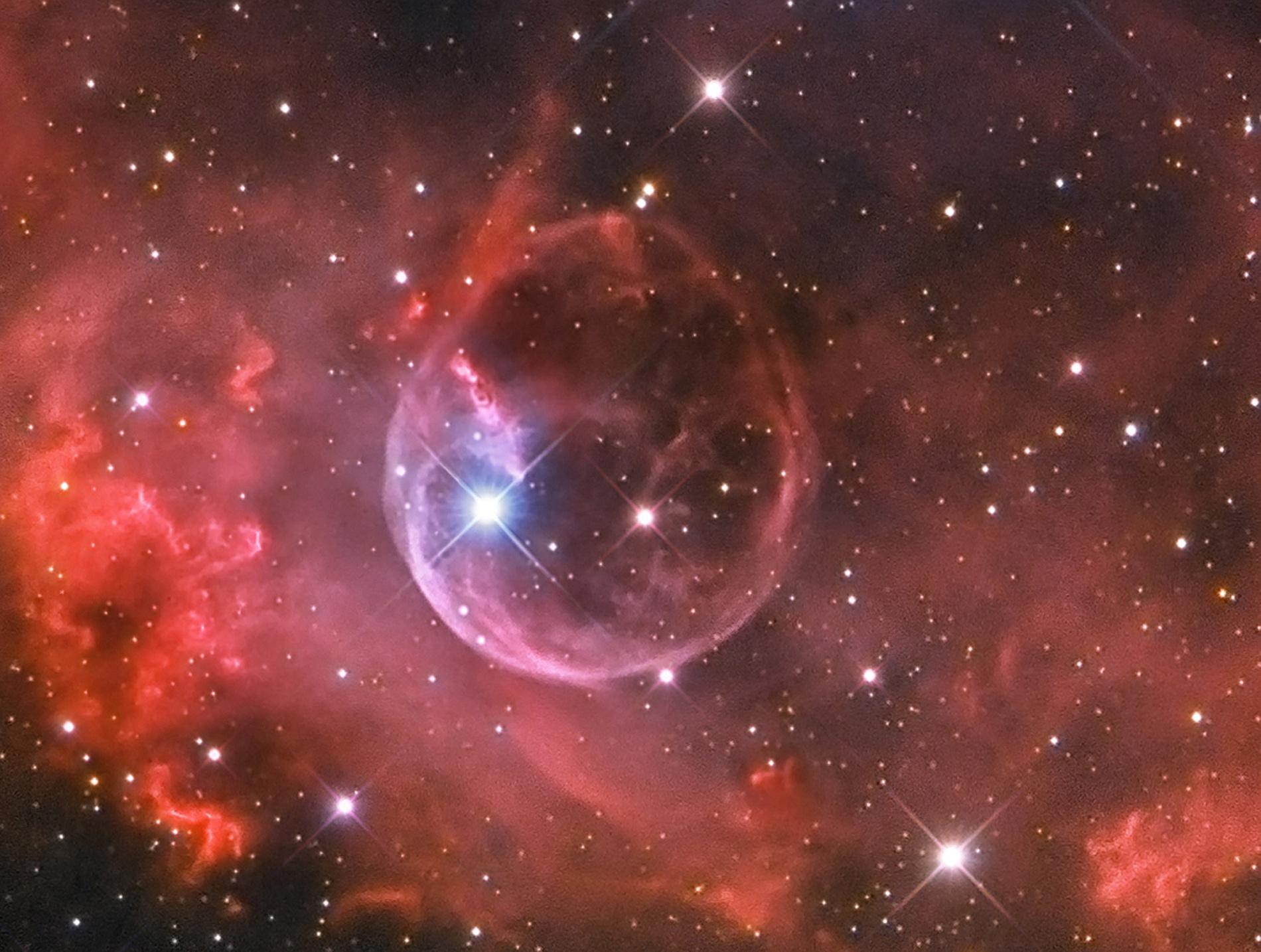 Foto Osservatorio  - Bubble Nebula (NGC 7635)