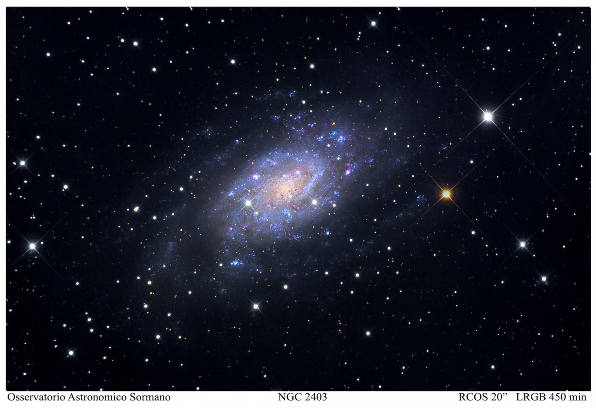 Foto Osservatorio  - NGC 2403: La banalità di essere unici