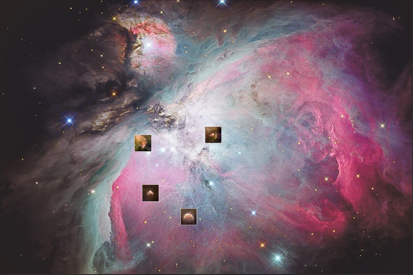Foto Osservatorio  - M42, un pasticcere stellare